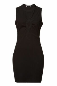 alexanderwang.t Cotton Dress with Cut-Out Detail