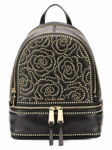 Michael Kors floral studded backpack - Black