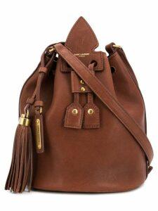 Saint Laurent classic bucket bag - Brown