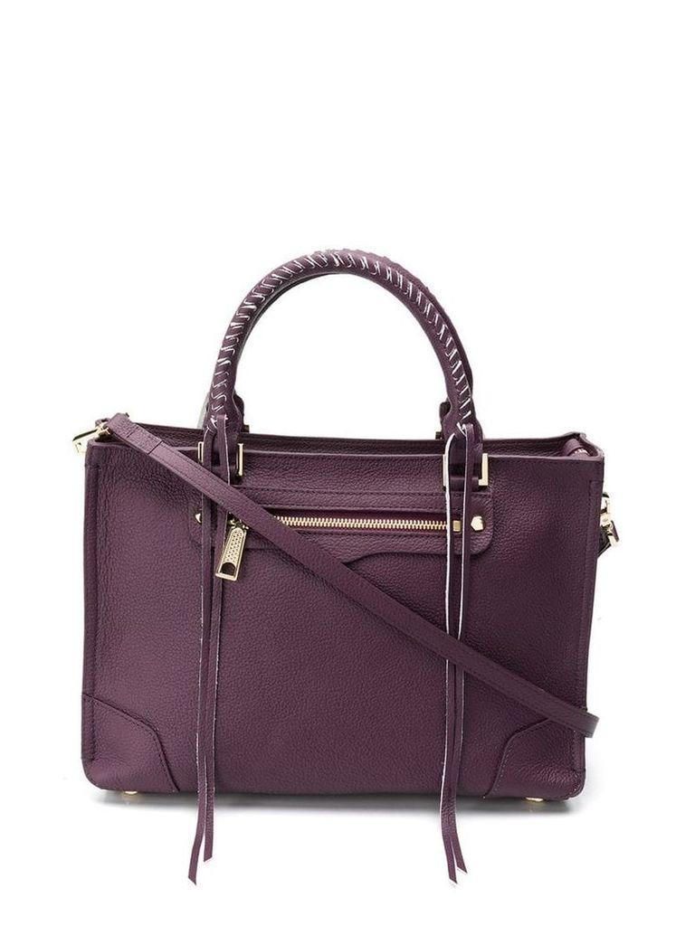 Rebecca Minkoff Regan satchel tote - Purple