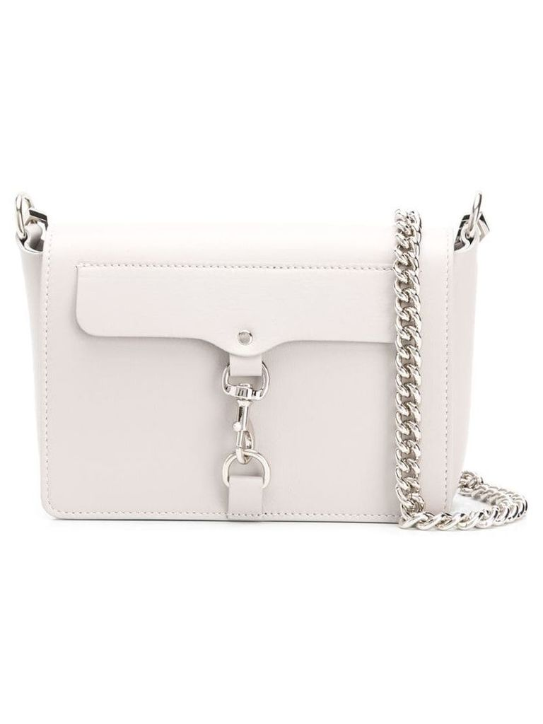 Rebecca Minkoff Mab flap crossbody bag - Grey