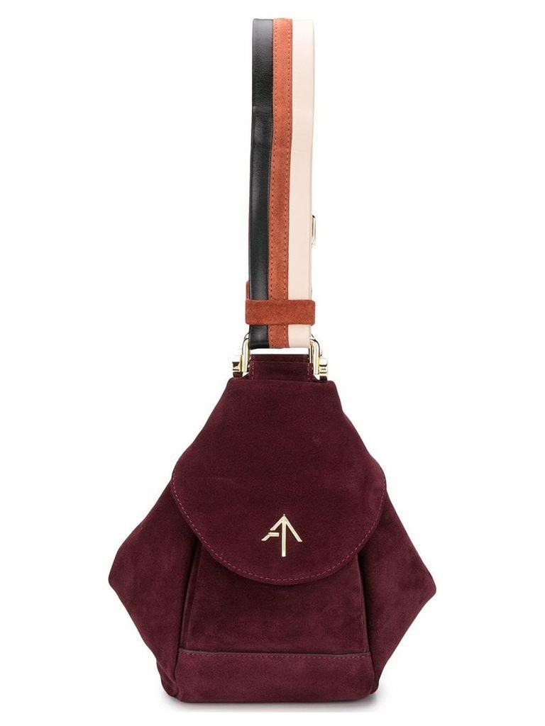 Manu Atelier bucket shoulder bag - Red