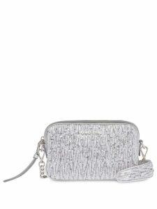 Miu Miu sequin embellished crossbody bag - Silver