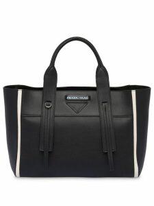 Prada Prada Ouverture medium leather bag - Black