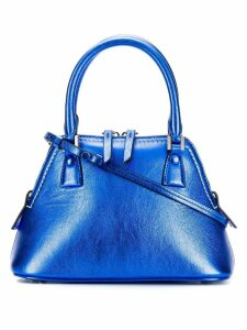 Maison Margiela 5AC metallic mini bag - Blue