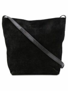 Ann Demeulemeester crossbody bucket bag - Black