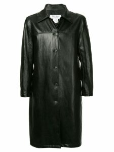We11done belted coat - Black