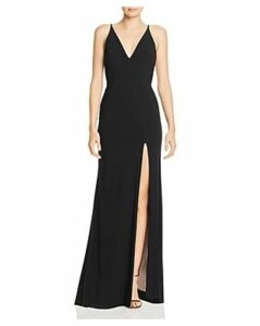 Avery G Embellished Cutout Gown