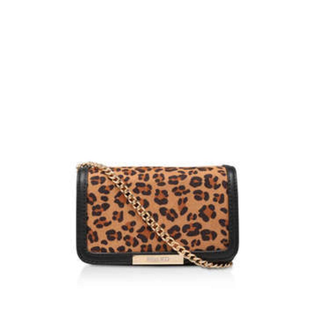 Miss Kg Honey - Leopard Print Messenger Bag