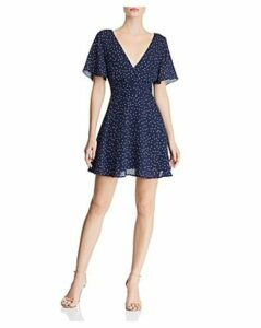 Bb Dakota Flutter-Sleeve Polka Dot Dress - 100% Exclusive