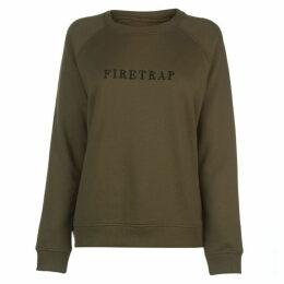 Firetrap Luxe Crew Sweatshirt Ladies