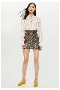 Womens Bloom Jacquard Skirt - Multi, Multi