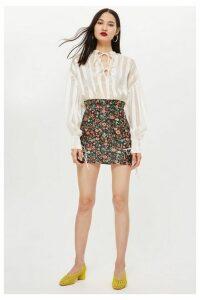 Womens Bloom Jacquard Skirt - Multi, Multi