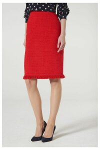 Womens L.K.Bennett Red Myia Skirt -  Red