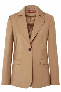 ALEXACHUNG - Ludlow Wool-blend Blazer - Camel