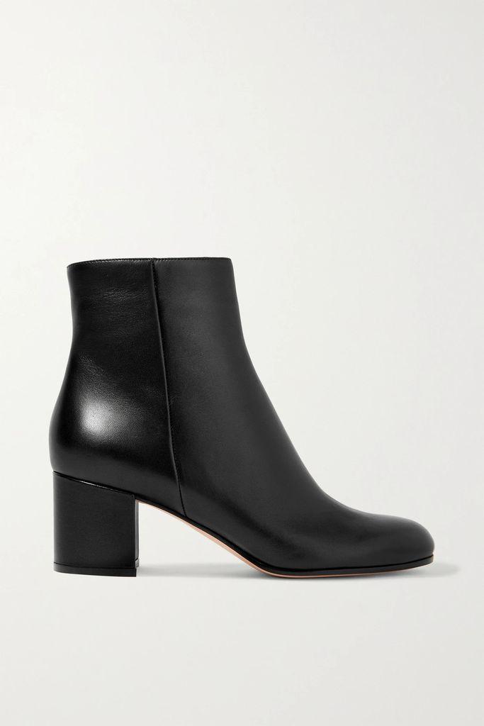 Temperley London - Lena Checked Satin-jacquard Blazer - Blue