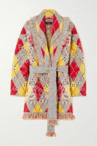 Tory Burch - Deneuve Ruffled Floral-print Plissé-georgette Dress - Navy