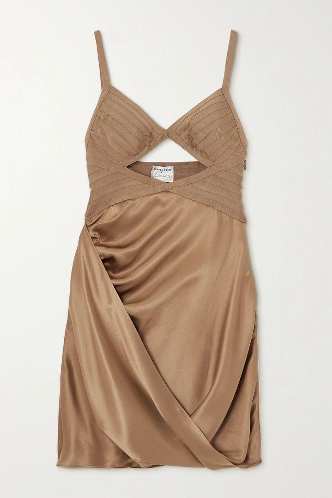 Alexander McQueen - Ruffled Wool-blend Cady Coat - Black