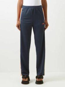 Marni - Belou Abstract Print Cotton Top - Womens - Brown Multi