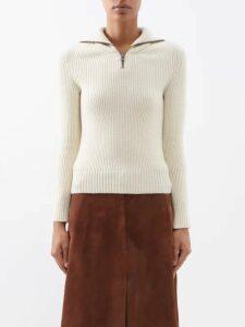 Edward Crutchley - Monkey Print Short Sleeved Cotton Shirt - Womens - Cream