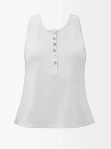 Raey - Single Breasted Houndstooth Blazer - Womens - Black Multi