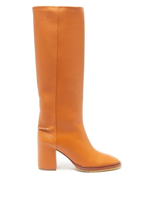Kwaidan Editions - Patch Pocket Double Faced Crepe Pencil Skirt - Womens - Black