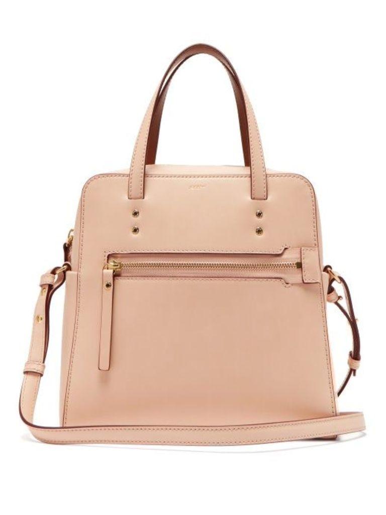 Joseph - Ryder Leather Cross Body Bag - Womens - Light Pink