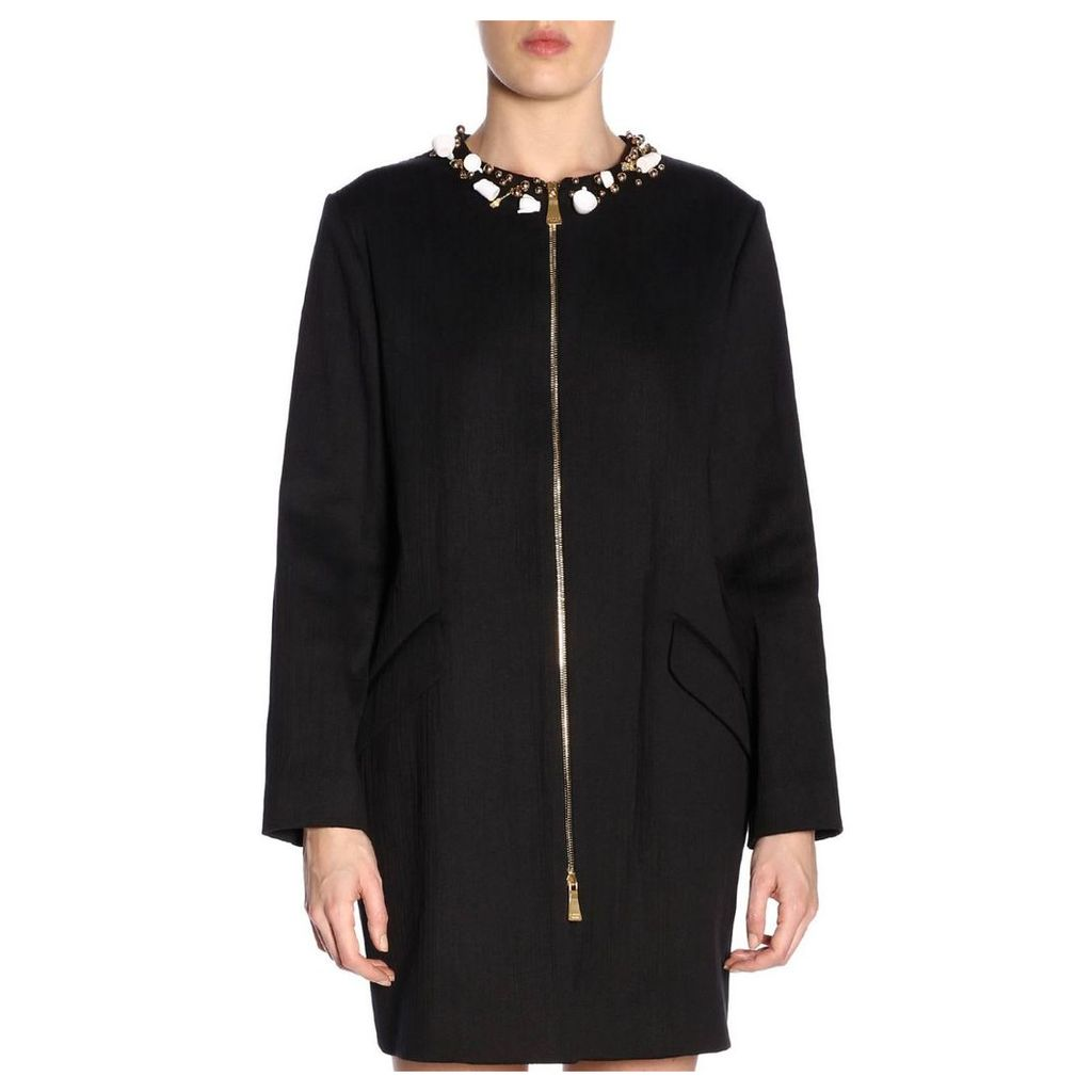 Boutique Moschino Coat Coat Women Boutique Moschino
