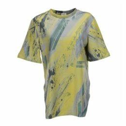 Boo Pala London Unisex Grey & Lime T-shirt