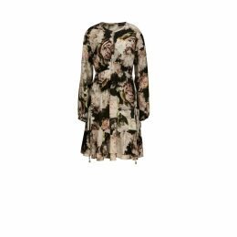 GISY - Gaia Mandala Embroidered Velvet Skirt