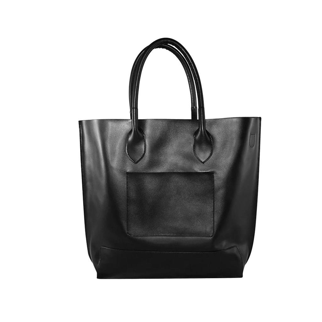 Hiva Atelier - Harmonia Leather Bag Metallic Burgundy