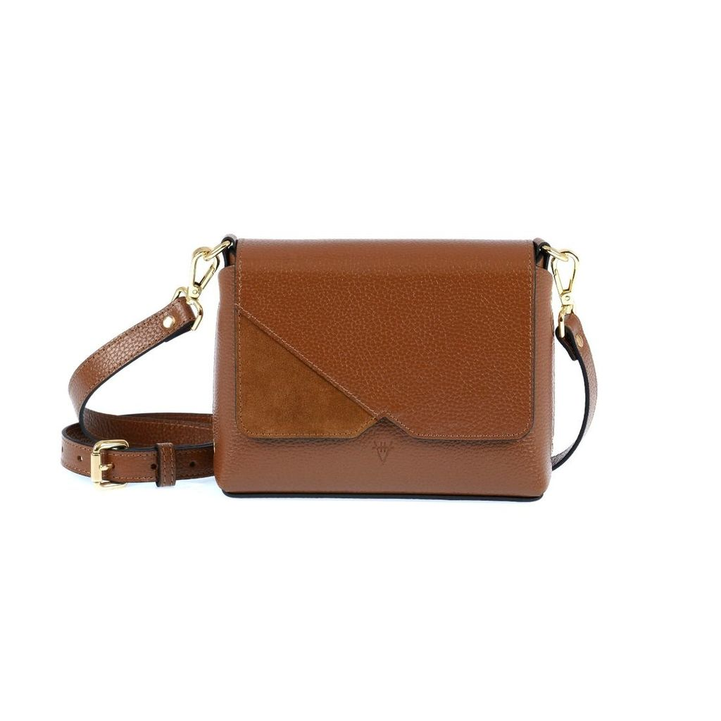 Hiva Atelier - Mini Mare Leather Bag Brown & Brown Suede