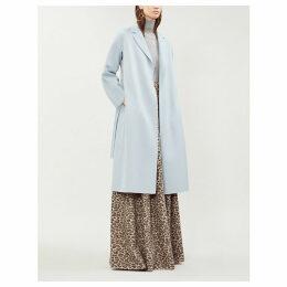 Esturia brushed wool coat