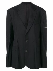 Balenciaga oversized blazer - Black