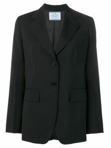 Prada classic tailored blazer - Black