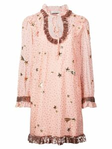 Coach Outerspace print dress - Pink