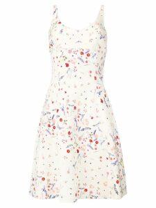 Ermanno Scervino floral print summer dress - Neutrals