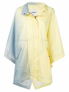 Yves Salomon gradient parka raincoat - Yellow