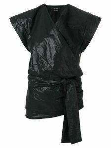 Isabel Marant Heather kimono top - Black