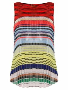 Missoni striped pleated top - Multicolour