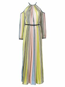 Missoni cold shoulder striped dress - Multicolour