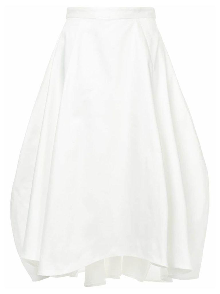 Maggie Marilyn sculptural tulip skirt - White