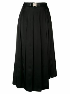 Fendi midi pleated skirt - Black