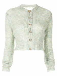 Alice Mccall cropped cardigan - Green
