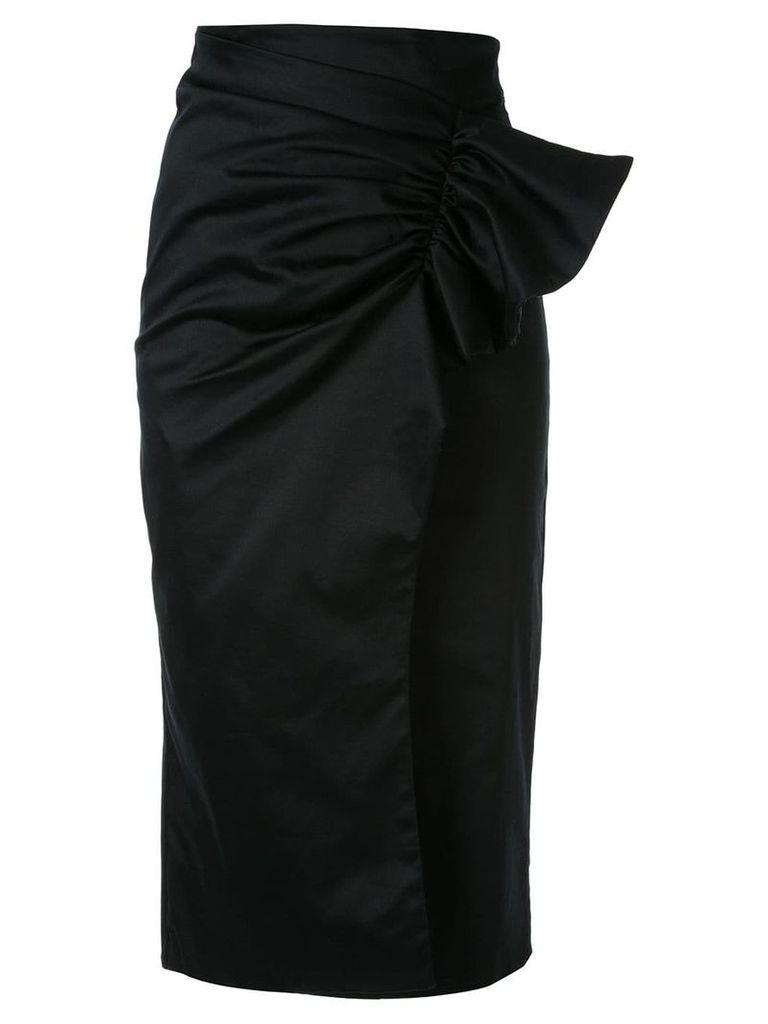Silvia Tcherassi Guzmania skirt - Black