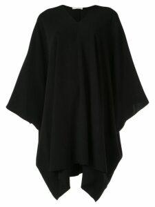 The Row Iona cape dress - Black