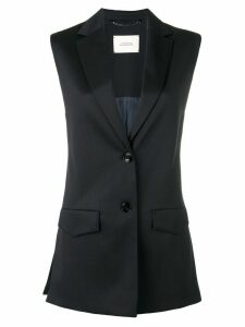 Dorothee Schumacher classic fitted waistcoat - Blue