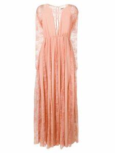 Aniye By lace inserts long dress - Pink