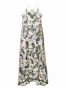 Zadig & Voltaire paisley print dress - Pink