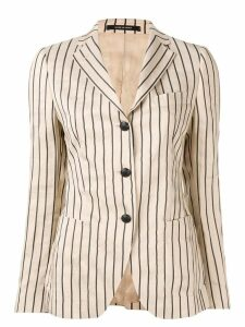Tagliatore striped formal blazer - Brown